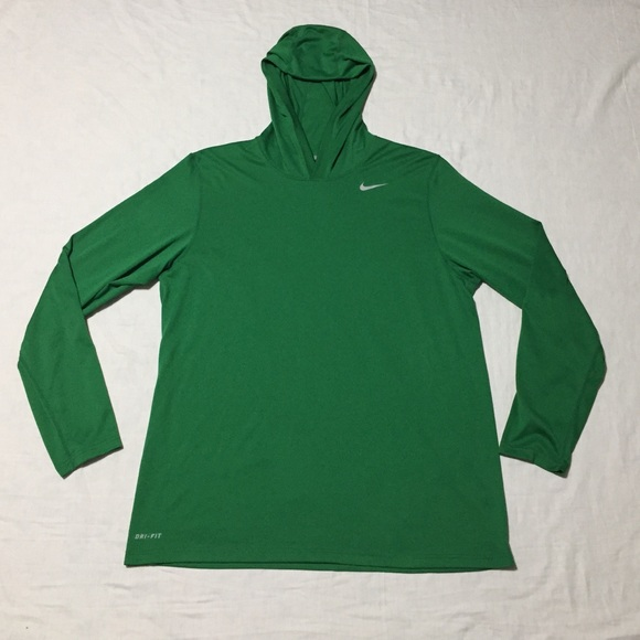 97f77c4e Nike Dri-fit Touch Men's Longsleeve Hoodie Shirt. M_5b6d1e2f5098a0ec2763b23c